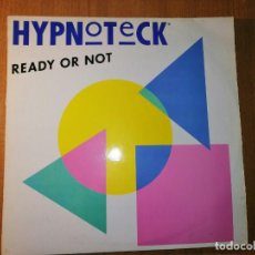 Discos de vinilo: LOTE 2 DISCOS . HYPNOTECK - READY OR NOT (TWO VERSION) Y KOOL & THE GANG – RAGS TO RICHES. Lote 237077325