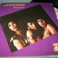 Disques de vinyle: RITCHIE FAMILY - I´LL DO MY BEST ..MAXIDANCE - ZAFIRO ORIGINAL 1982 - DIFERENTE PORTADA. Lote 237082480