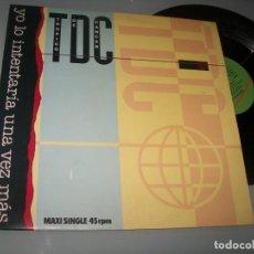 Discos de vinilo: TRÓPICO DE CÁNCER - YO LO INTENTARÍA UNA VEZ MÁS ..EDICION .MAXISIGLE + 2 TEMAS MAS - 1984. Lote 237088090