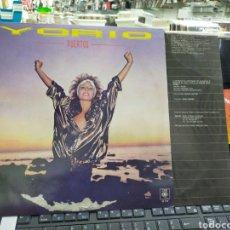 Discos de vinilo: YORIO LP PUERTOS ARGENTINA 1986. Lote 237102470