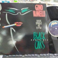 Dischi in vinile: GINO VANNELLI MAXI BLACK CARS DANCE MIX FRANCIA 1984. Lote 237104520