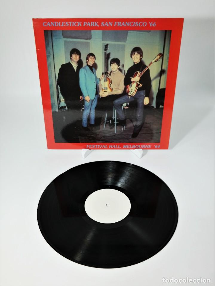 THE BEATLES – CANDLESTICK PARK SAN FRANCISCO '66 / FESTIVAL HALL MELBOURNE '64 / RARE (Música - Discos - LP Vinilo - Pop - Rock Internacional de los 50 y 60)