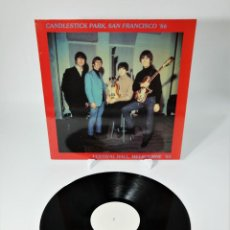 Discos de vinilo: THE BEATLES ‎– CANDLESTICK PARK SAN FRANCISCO '66 / FESTIVAL HALL MELBOURNE '64 / RARE. Lote 237106405