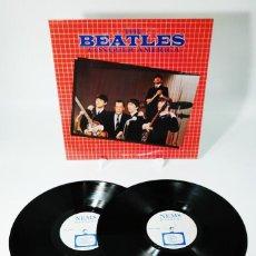 Discos de vinilo: THE BEATLES – CONQUER AMERICA (MEGA RARE). Lote 237108265