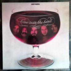 Discos de vinilo: DEEP PURPLE – COME TASTE THE BAND LP GATEFOLD SPAIN 1975 - MUY BUEN ESTADO. Lote 237111645