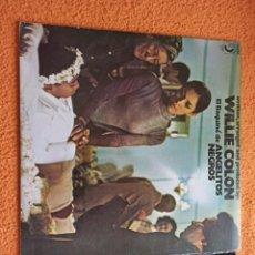 Discos de vinilo: WILLIE COLON ANGELITOS NEGROS LP. Lote 237114675