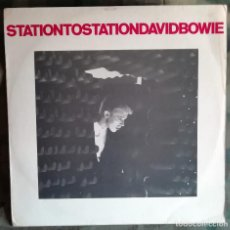 Dischi in vinile: DAVID BOWIE – STATION TO STATION LP, SPAIN 1976 RCA ‎– APL1-1327, RCA VICTOR ‎– APL1-1327. Lote 237115345