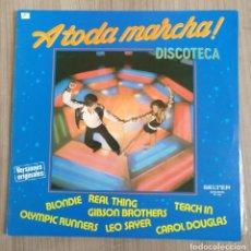 Discos de vinilo: MUSICA, DISCO VINILO LP, DISCOTECA A TODA MARCHA, BELTER. Lote 237127675