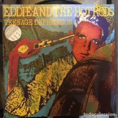 Dischi in vinile: EDDIE AND THE HOTRODS ‎– TEENAGE DEPRESSION -LP-. Lote 237159010