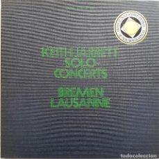 Discos de vinilo: KEITH JARRETT. SOLO-CONCERTS. BREMEN, LAUSANNE. 3 LPS. 1973, EDICIÓN ALEMANA. Lote 237163210