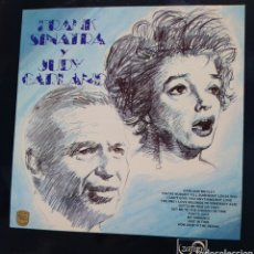 Disques de vinyle: FRANK SINATRA Y JUDY GARLAND LP SELLO ZAFIRO EDITADO EN ESPAÑA AÑO 1976.... Lote 237165265