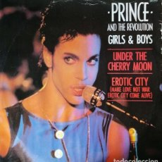 Discos de vinilo: PRINCE & THE REVOLUTION - GIRLS & BOYS - MAXI SINGLE DE 12 PULGADAS #. Lote 265453834