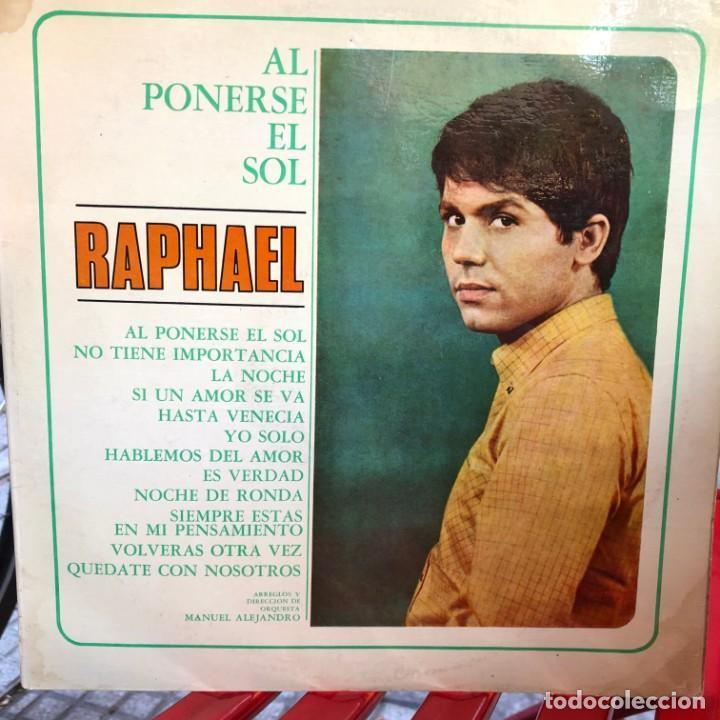 LP ARGENTINO DE RAPHAEL AÑO 1967 (Música - Discos - LP Vinilo - Solistas Españoles de los 50 y 60)