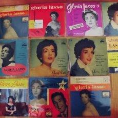 Discos de vinilo: GLORIA LASSO,LOTE DE 11 EPS. Lote 237166365