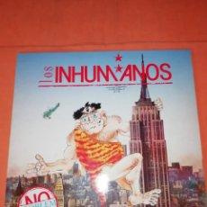 Discos de vinilo: LOS INHUMANOS . NO PROBLEM. LP. ZAFIRO RECORDS . 1989 SERDISCO. Lote 237166545