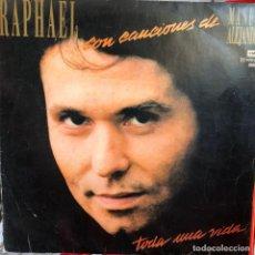 Discos de vinilo: LP ARGENTINO DE RAPHAEL AÑO 1986. Lote 237168575