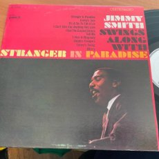 Discos de vinilo: JIMMY SMITH (SWINGS ALONG WITH STRANGER IN PARADISE) LP USA 1966 (B-20). Lote 237173105