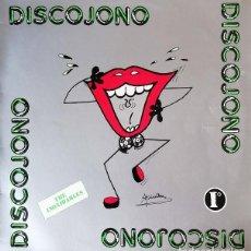 Discos de vinilo: THE INOXIDABLES - QUIQUE TEJADA Y TULLIO TONELLI - DISCOJONO - LP DE VINILO #. Lote 237175205