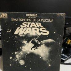 Discos de vinilo: DISCO VINILO TEMA PRINCIPAL DE LA PELÍCULA STAR WARS. Lote 237180115