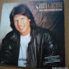 Discos de vinilo: SANDRO GIACOBBE-SULLA MIA STESSA STRADA-EL JARDIN PROHIBIDO. Lote 237180175