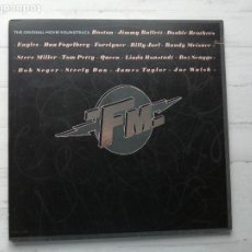 Dischi in vinile: VARIOUS – FM • THE ORIGINAL MOVIE SOUNDTRACK DOBLE LP BSO USA 1978 EX/EX. Lote 237181445