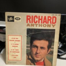 Discos de vinilo: DISCO VINILO DE RICHARD ANTHONY. Lote 237183770
