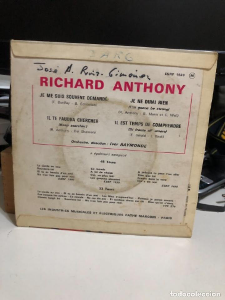 Discos de vinilo: Disco vinilo de Richard Anthony - Foto 2 - 237183770