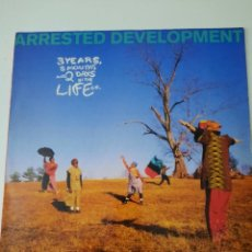 Discos de vinilo: ARRESTED DEVELOPMENT ‎– 3 YEARS, 5 MONTHS AND 2 DAYS IN THE LIFE OF... ED. ESPAÑOLA 1992. Lote 237152655