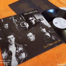 Discos de vinilo: DECIBELIOS CON EL TIEMPO Y UNA CAÑA TOP. Lote 237194605