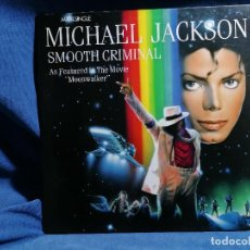 Discos de vinilo: MICHAEL JACKSON 'SMOOTH CRIMINAL' VERSION ESPAÑA 1989. Lote 237196770