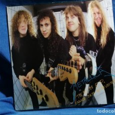 Discos de vinilo: METALLICA 'THE GARAGE DAYS RE-REVISITED' EDICION 1987 ESPAÑA. Lote 237197340
