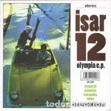 Discos de vinilo: ISAR 12 OLYMPIA EP VINILO BLANCO NUEVO ELEFANT. Lote 237197985