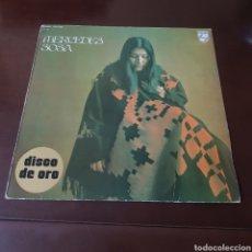 Discos de vinilo: MERCEDES SOSA 1975 DISCO DE ORO. Lote 237198590