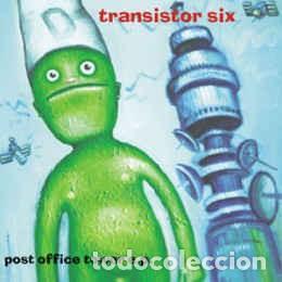 TRANSISTOR SIX POST OFFICE TOWER EP VINILO TRANSPARENTE NUEVO ELEFANT (Música - Discos de Vinilo - EPs - Otros estilos)