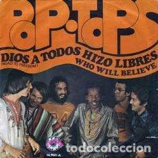 Discos de vinilo: POP TOPS DIOS A TODOS HIZO LIBRES. Lote 237203590