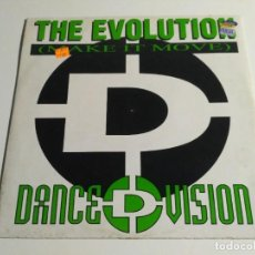 "Discos de vinil: DANCE D-VISION - THE EVOLUTION (MAKE IT MOVE) (12""). Lote 237213060"