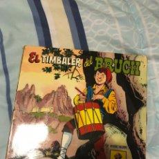 Discos de vinilo: EL TIMBALER DEL BRUCH - DISCO-CUENTO ODEON 1959 EL TIMBALER DEL BRUCH NARRACIÓN HISTORICA. Lote 237213165