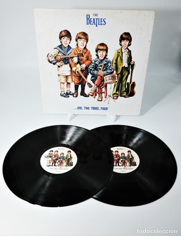THE BEATLES – ...ONE, TWO, THREE, FOUR! (Música - Discos - LP Vinilo - Pop - Rock Internacional de los 50 y 60)