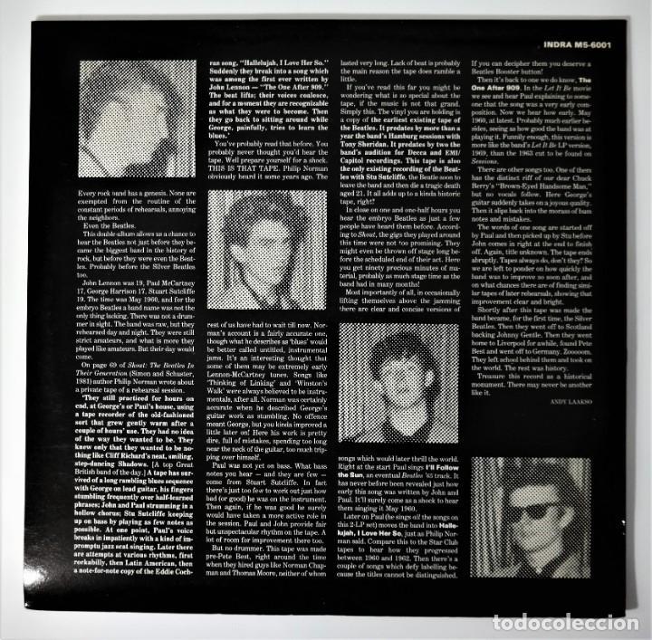 Discos de vinilo: The Beatles- John, Paul, George and Stu – Liverpool May 1960 - Foto 12 - 237256495