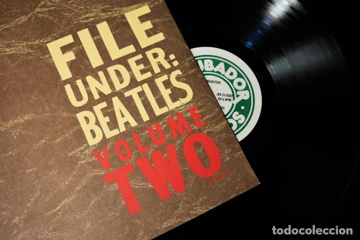 """BEATLES - FILE UNDER: BEATLES VOLUME TWO / MEGA RARE """"MASTER LP (Música - Discos - LP Vinilo - Pop - Rock Internacional de los 50 y 60)"""