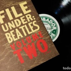 "Discos de vinilo: BEATLES - FILE UNDER: BEATLES VOLUME TWO / MEGA RARE ""MASTER LP. Lote 237262720"