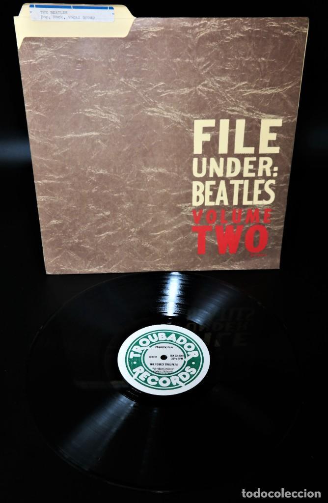 """Discos de vinilo: Beatles - File Under: Beatles Volume Two / Mega Rare """"Master LP - Foto 4 - 237262720"""
