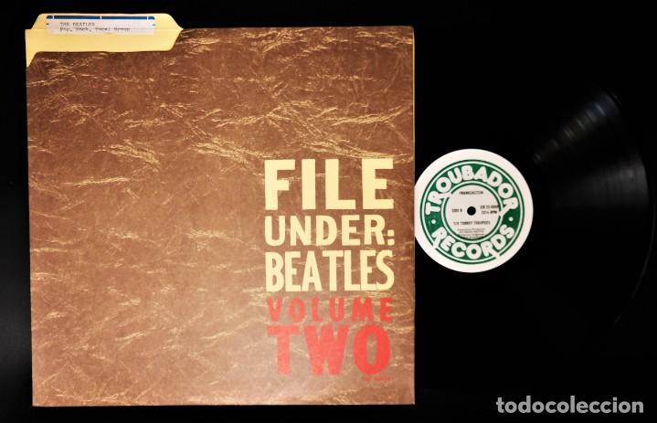 """Discos de vinilo: Beatles - File Under: Beatles Volume Two / Mega Rare """"Master LP - Foto 7 - 237262720"""