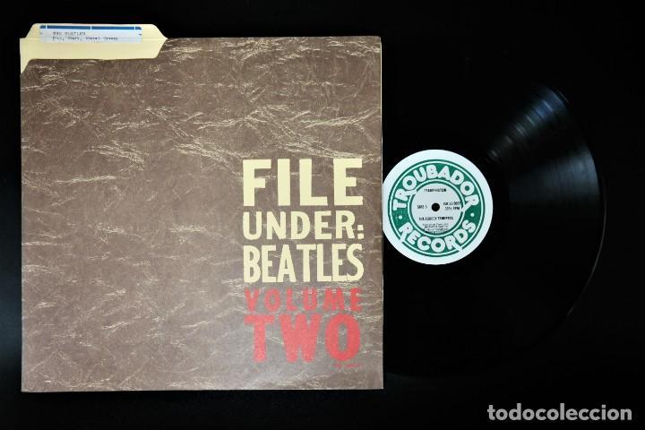"""Discos de vinilo: Beatles - File Under: Beatles Volume Two / Mega Rare """"Master LP - Foto 11 - 237262720"""