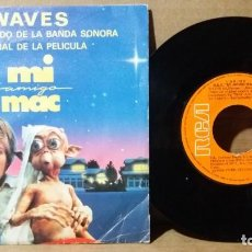 Discos de vinilo: WAVES / MI AMIGO MAC / SINGLE 7 INCH. Lote 237270570