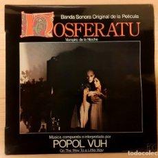 Discos de vinilo: NOSFERATU POPOL VUH EGG DISCOS ORIGINAL ESPAÑA 1979 RARO!!!. Lote 237277855