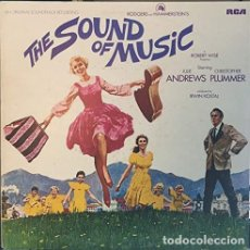 Discos de vinilo: THE SOUND OF MUSIC (AN ORIGINAL SOUNDTRACK RECORDIN- RODGERS & HAMMERSTEIN STARRING JULIE ANDREWS LP. Lote 237279300