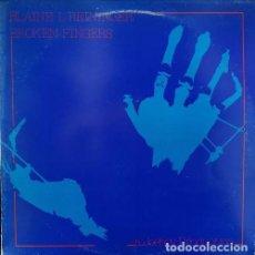 Dischi in vinile: BLAINE L. REININGER - BROKEN FINGERS - LP DE VINILO EDICION ORIGINAL BELGA - ELECTRONICA. Lote 237284140