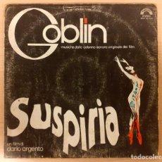 Discos de vinilo: SUSPIRIA GOBLIN ORIGINAL ITALIA 1977 CINEVOX VINILO EN BUEN ESTADO VER INFORMACIÓN MUY RARO!!!. Lote 237284970