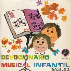 Discos de vinilo: DEVOCIONARIO MUSICAL INFANTIL VOL.2 - ESCOLANIA NUESTRA SEÑORA DEL RECUERDO (EP PAX 1966). Lote 237304595